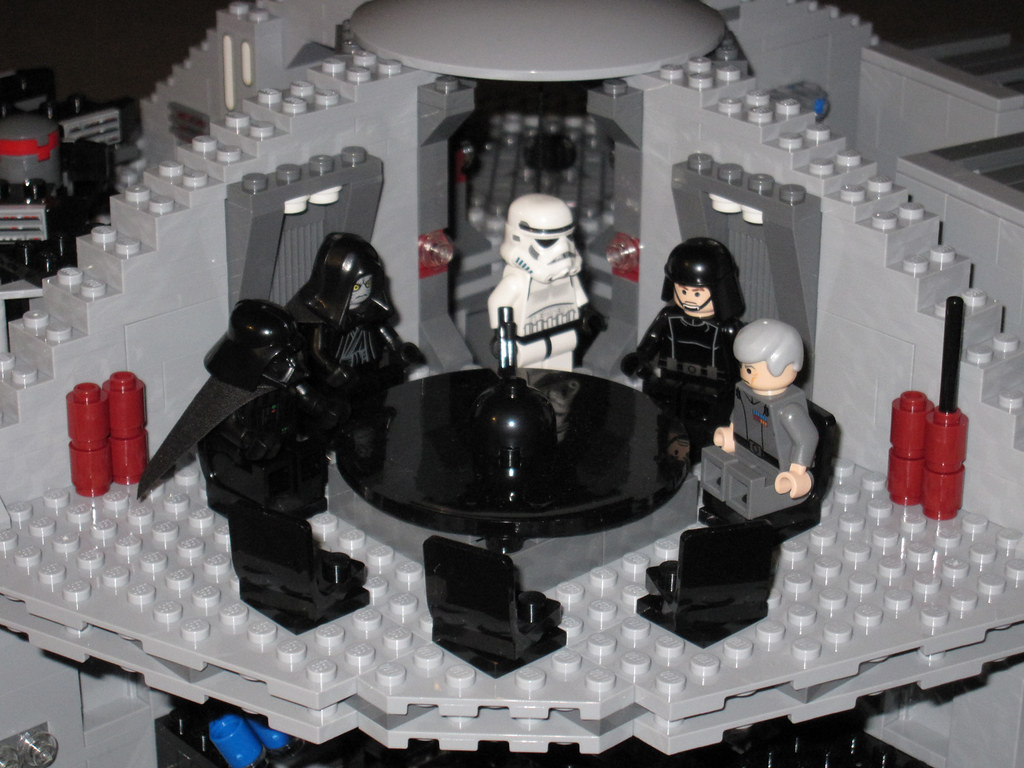 lego star wars set 10188 death star staged scenes. Black Bedroom Furniture Sets. Home Design Ideas