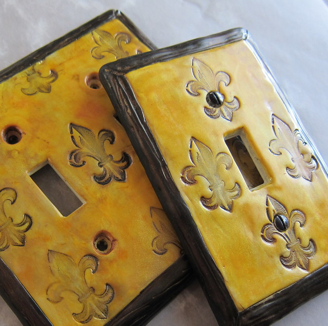 Fleur De Lis Light Switch Plate Covers Flickr Photo