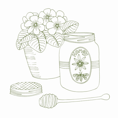 Honey Jar | by Geninne