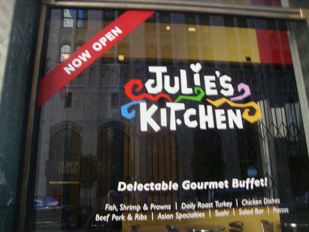 Julie S Kitchen Sf Menu