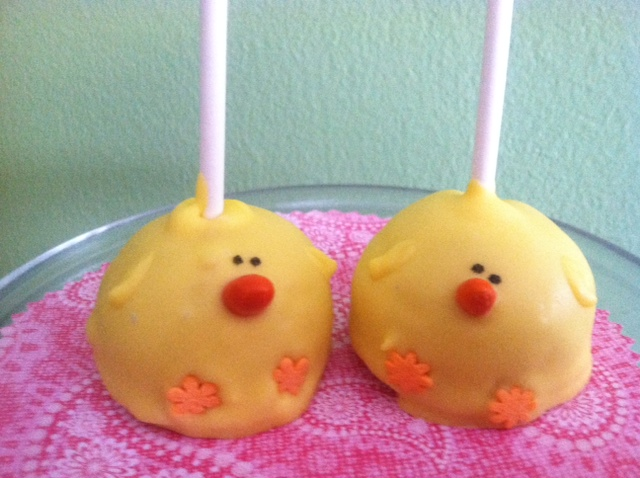 Lemon Cake Pops Bakerella