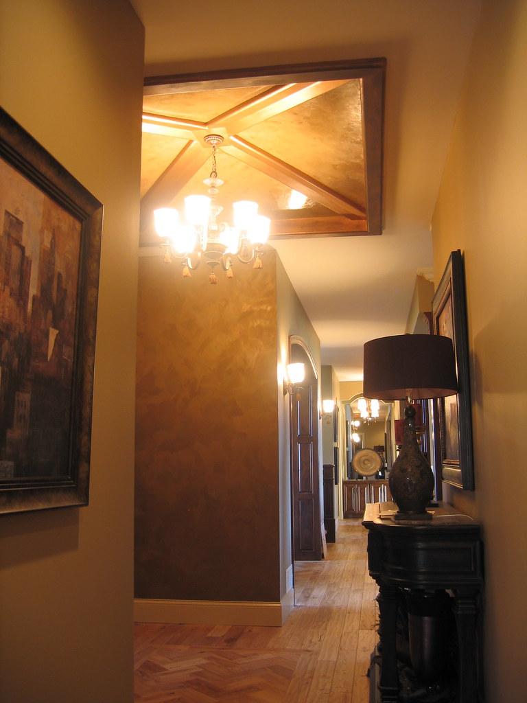 Foyer Plaster Ceiling : Entryway italian venetian plaster finishes b
