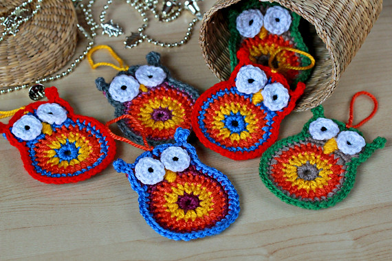 Crochet Owls - Pattern www.etsy.com/listing/87853505 ...