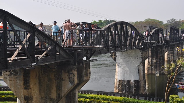 Pak Khwae Thailand  city photos : Khwae Yai River Bridge, Kanchanaburi, Thailand | The Khwae ...