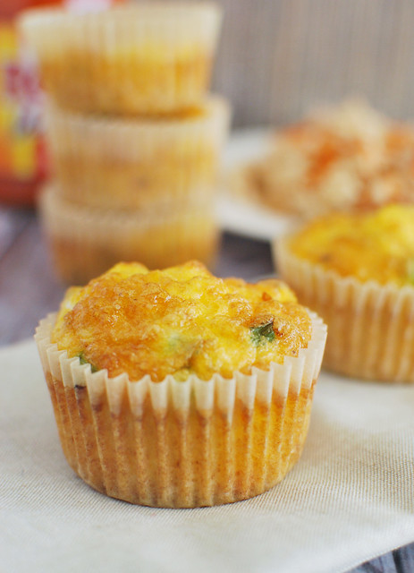 Paleo Buffalo Chicken Egg Muffins