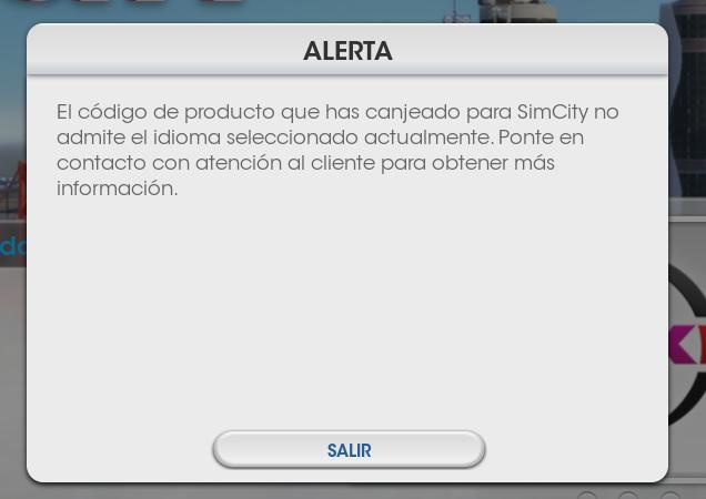 Error SimCity