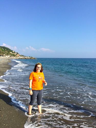 the italian riviera cogoleto beach