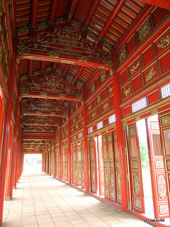 Corridor of Forbidden City