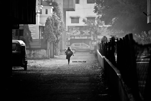 177/365. School Chale Hum - We Go Towards The School | by Anant N S (www.thelensor.tumblr.com)