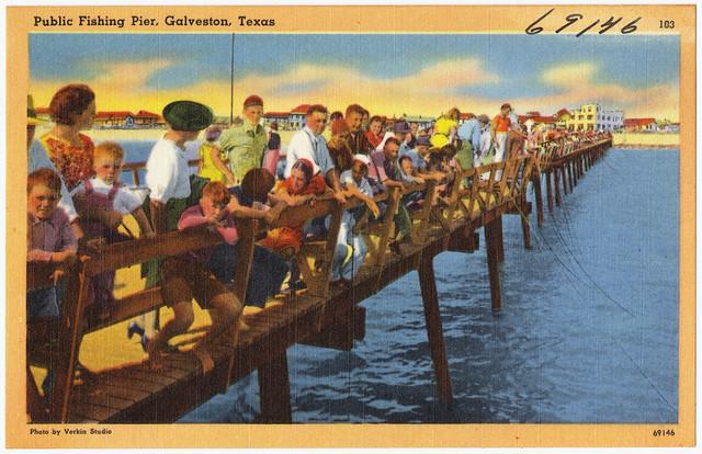 Public fishing pier galveston texas flickr photo for Galveston pier fishing