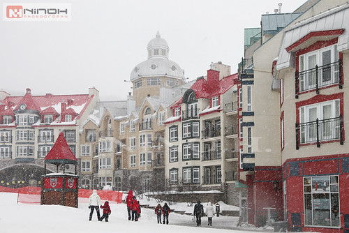 Snow in Mont-Tremblant resort - Laurentides | by Nino H