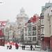 Snow in Mont-Tremblant resort - Laurentides