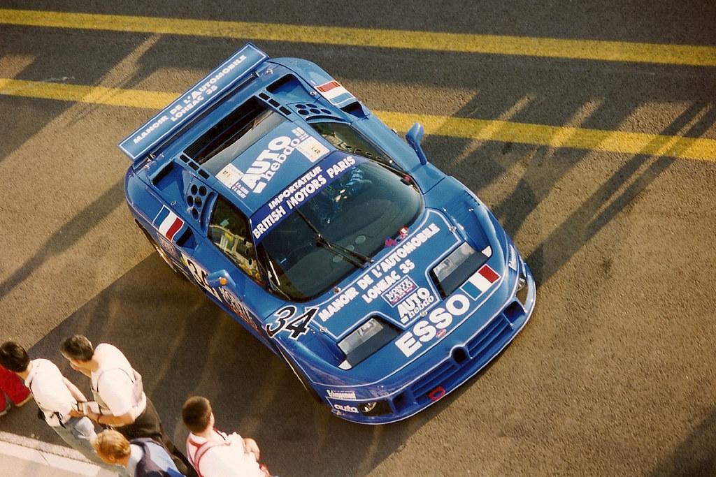 1994 Le Mans Bugatti Eb110 Ss Alain Cudini Eric H 233 Lary