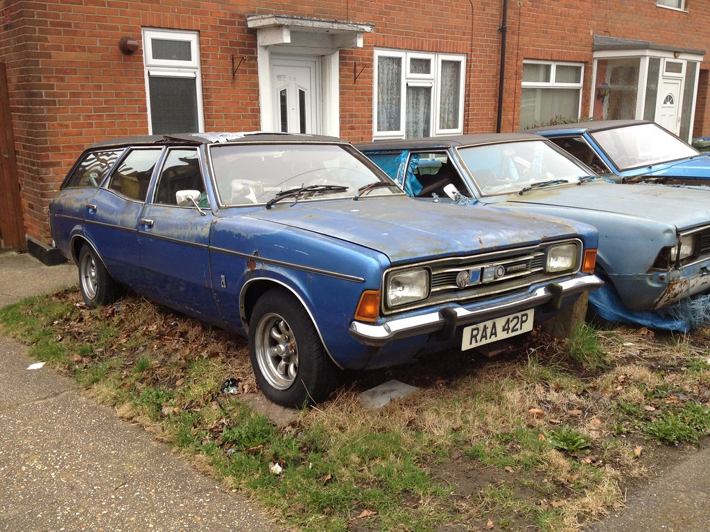 Ford Cortina Mk3 estate | This one appears elsewhere on my ...