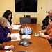 UN Women Executive Director Michelle Bachelet meets with Shirin Sharmin Chaudhury, State Minister for Women and Children Affairs of Bangladesh