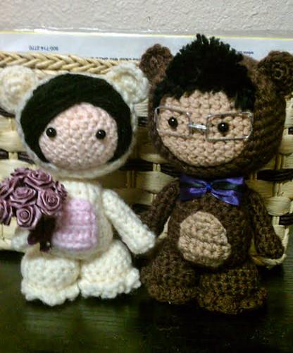 Amigurumi wedding dolls Flickr - Photo Sharing!