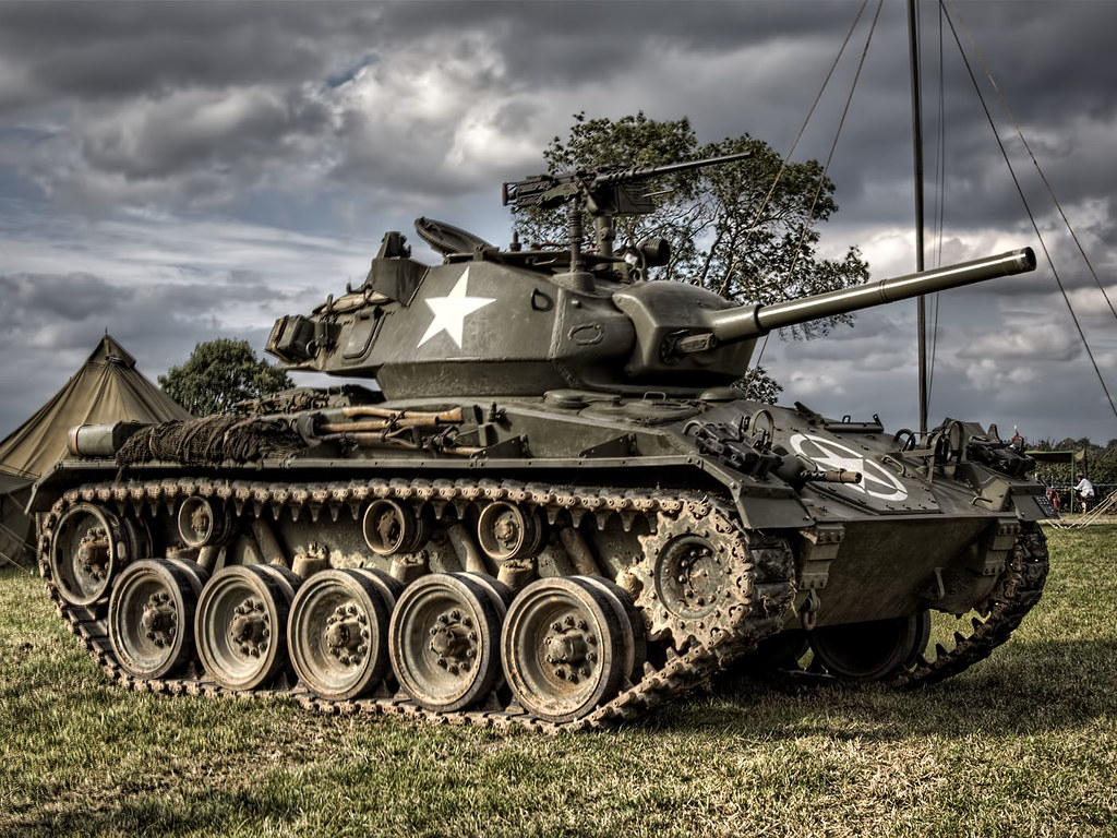 M24 Chaffee | At the Victory Show. | Les Auld | Flickr M24