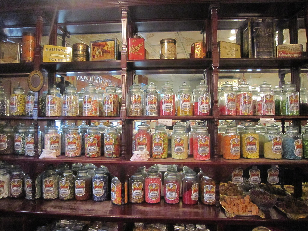 Old Fashioned Sweet Shop Near St Pauls London
