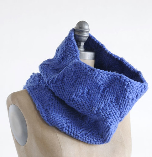 swell cowl | by knitting school dropout