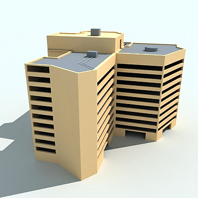 3d Building Free 3d Models Gandoza Flickr