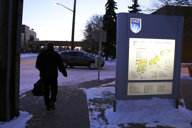 NAIT Campus in Edmonton Alberta - more than 8000 students.