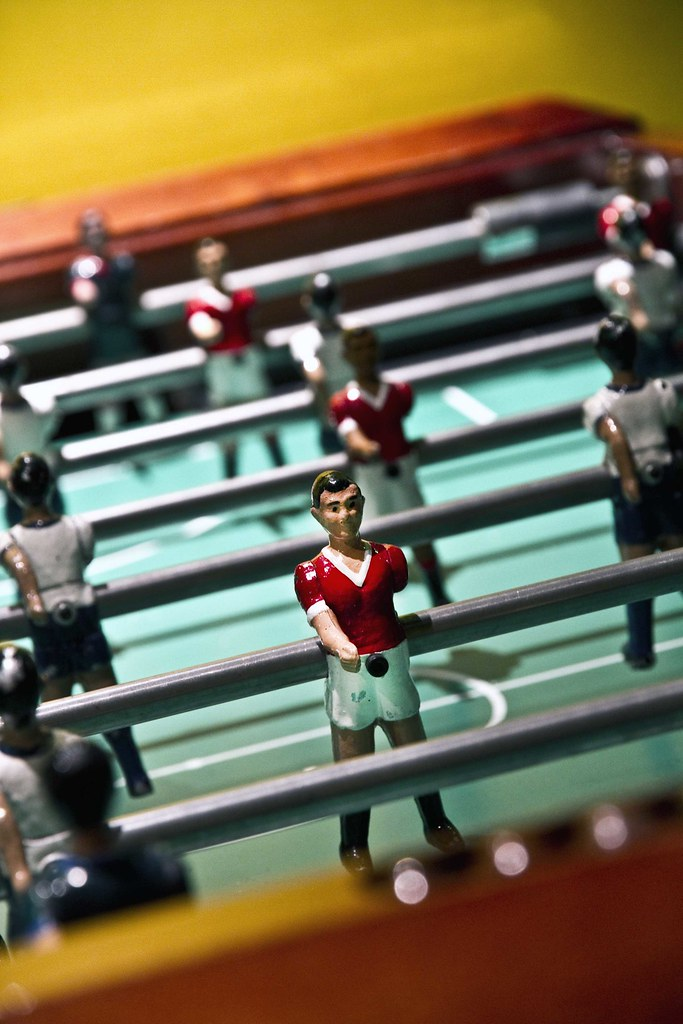 Table football apparently invented so that football coul flickr - Who invented table football ...