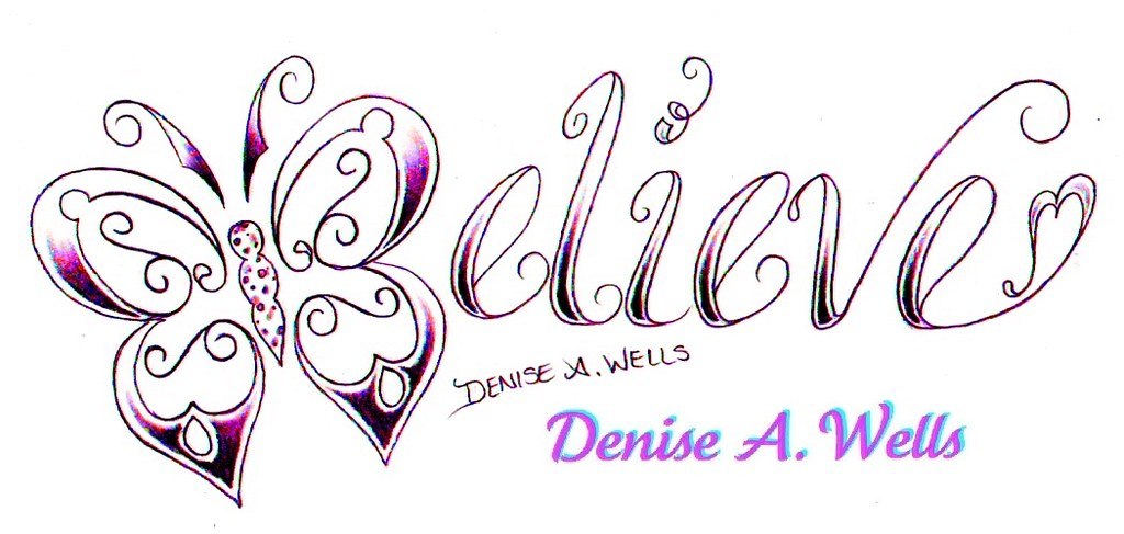 believe tattoo design by denise a wells believe tattoo th flickr. Black Bedroom Furniture Sets. Home Design Ideas