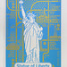 Silk screen poster - Statue of liberty