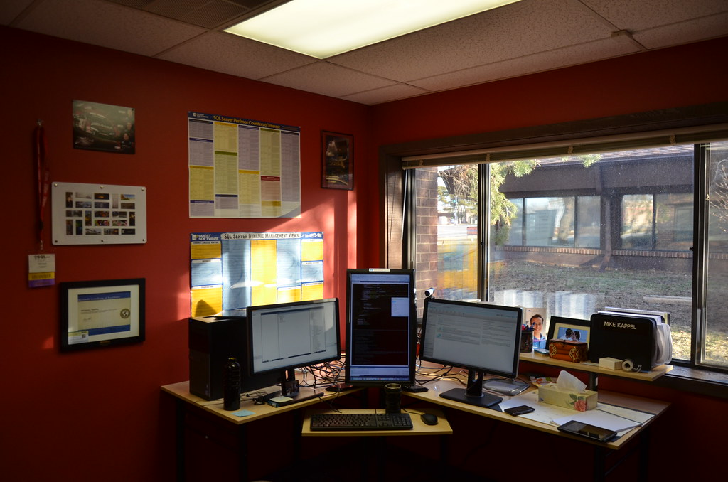 Software engineer office software engineer office view the flickr - Office messaging software ...