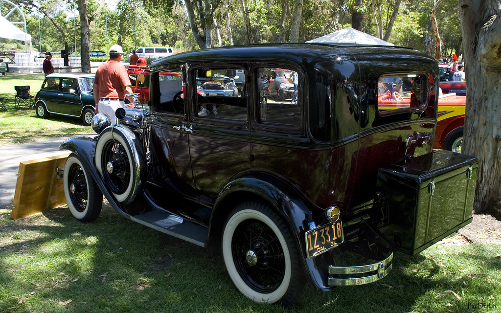 1931 ford model a fordor black over maroon rvl flickr. Black Bedroom Furniture Sets. Home Design Ideas