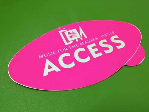 Music for the Masses all Access Pass | by oliverchesler