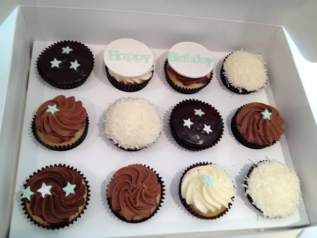 Birthday Cupcakes For Men Mens birthday cupcakes