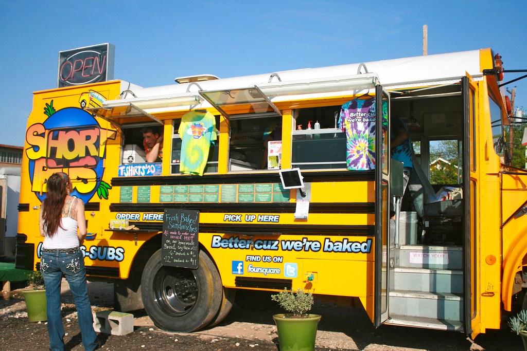 School Truck To Food Truck Conversion