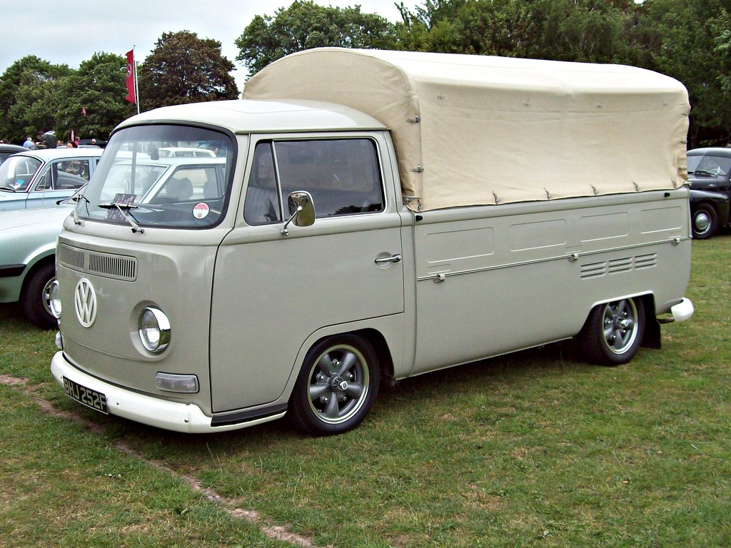 446 volkswagen t2 transporter pick up type 2 1967 flickr. Black Bedroom Furniture Sets. Home Design Ideas