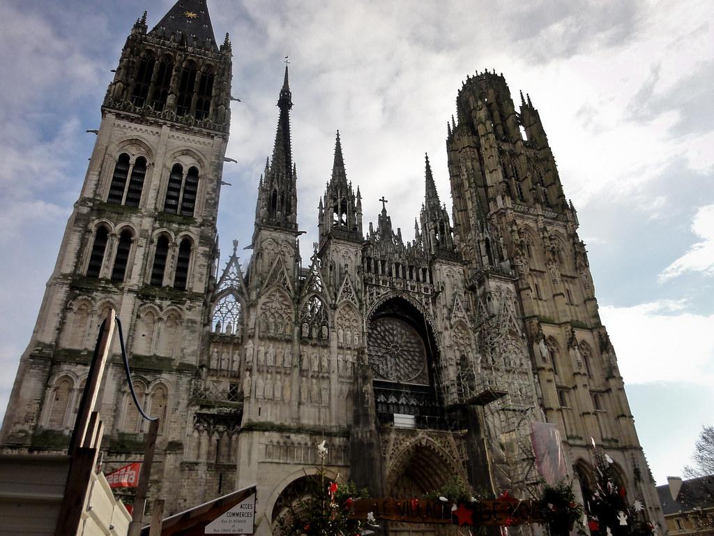 Cath Drale Notre Dame De Rouen La Cath Drale Notre Dame De Flickr