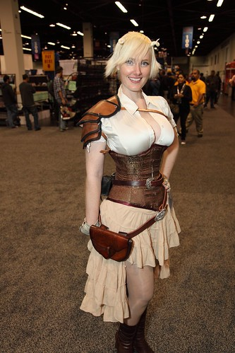 WonderCon 2012 - Steampunk Lady | by djwu