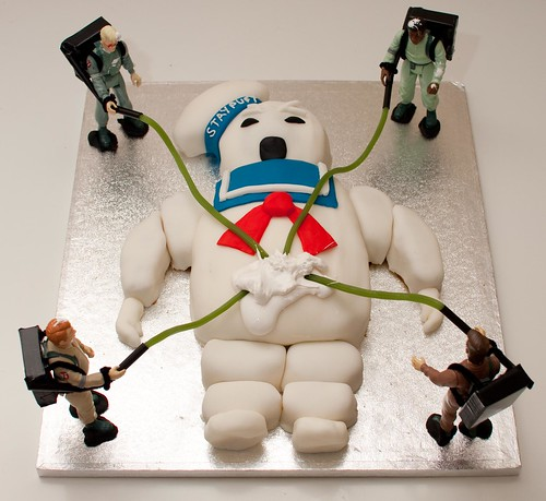 Ghostbusters cake | by poppet with a camera