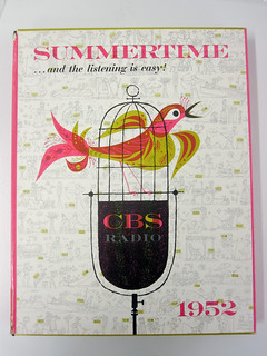 Summertime--CBS Radio promotional kit by Lou Dorfsman, illustration by Joseph Low, 1952 | by Herb Lubalin Study Center