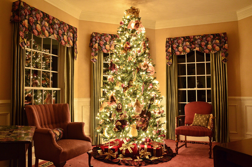 Christmas Tree Living Room christmas tree living room | christmas tree living room | flickr