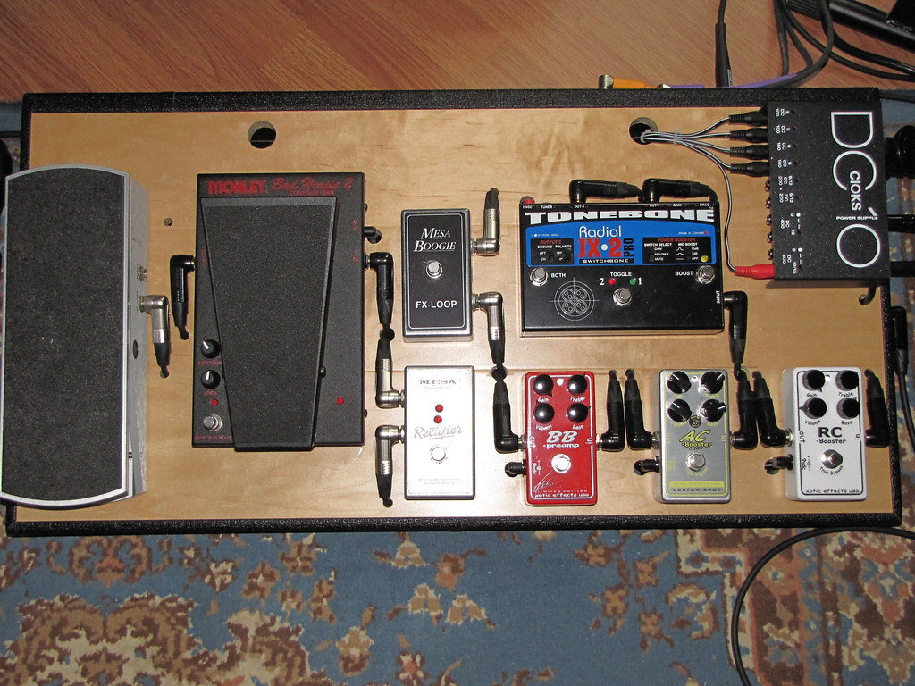 Pedal Board Issue Ground Hum Solved The Gear Page Wiring A Img