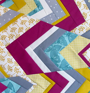 IMPROV chevrons!! | by Annamal Quilts