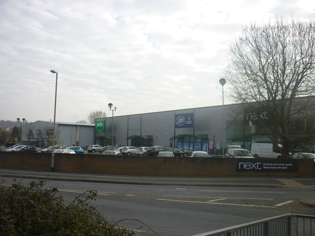Newton Abbot Retail Park In Kingsteignton