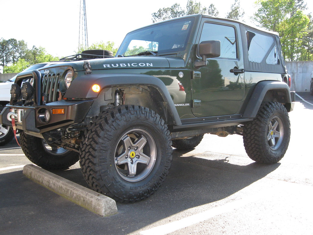 Rubicon Off Road >> 09 Rubicon AEV Pintler wheels ARB bumpers 003 | 35x12.50r17 … | Flickr