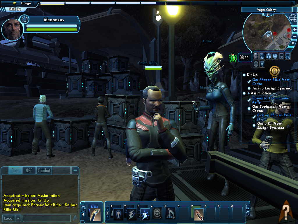 borg attack screenshot from my time in the mmorpg star. Black Bedroom Furniture Sets. Home Design Ideas