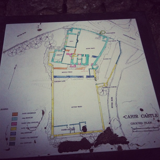 Cahir Castle Layout Of The Castle Mike Roth Flickr