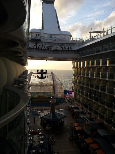 Sunset on Allure of the Seas | by CruiseSource.us
