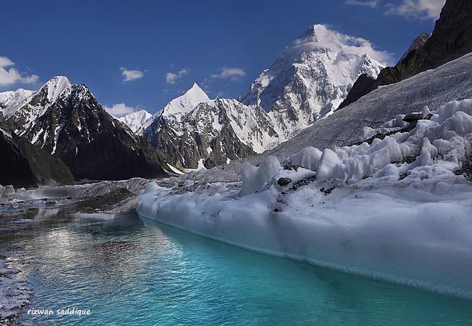 k2 8611m. | k2, 8611m. Baltoro Muztagh Range,Karakoram ...