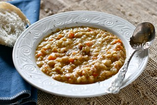 Garbanzo Bean Soup with Ham | by Hungry Housewife