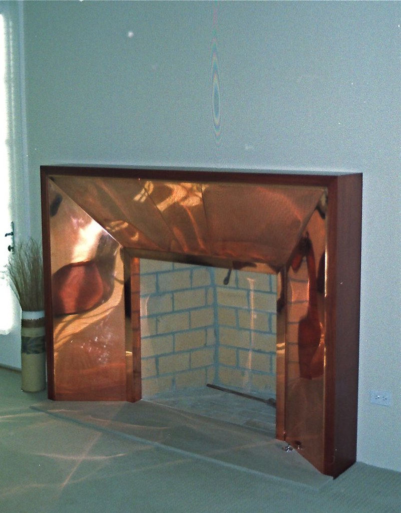 Custom Fireplace Surround 169 1999 16 Ounce Copper Wrappe