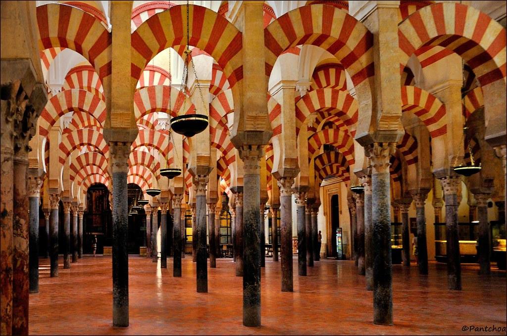 C rdoba la mezquita forest of pillars 2 2 very - Mezquita de cordoba de noche ...